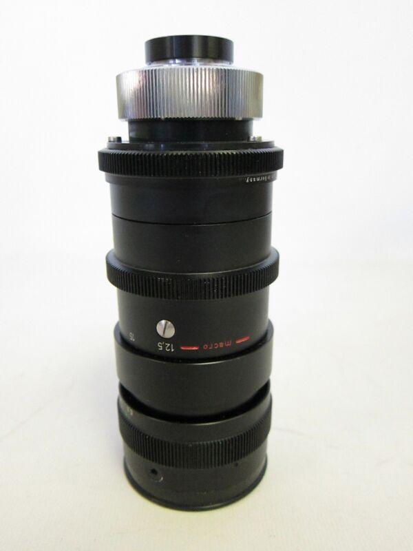 Schneider Optik Kreuznach TV Macro Zoom Lens 12.5-75 MM 14217732 Variogon 1.8