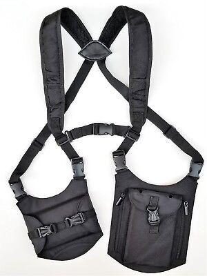 Shoulder Under Arm Wallet Holster Phone Tablet Safe Travel Bag Universal
