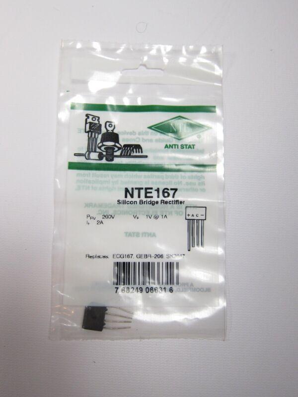 New NTE Electronics NTE167 Silicon Bridge Rectifier
