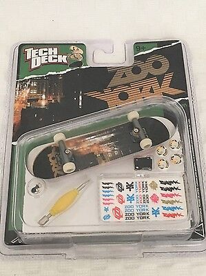 New Tech Deck Zoo York Skateboard Vintage
