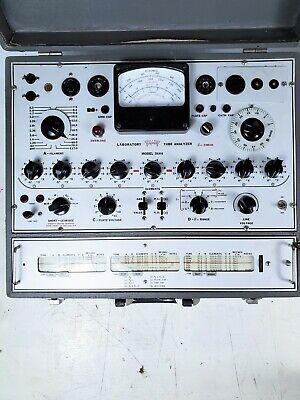 For Partsrepair Triplett Model 3444 Vacuum Tube Tester Checker - Untested