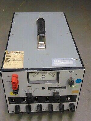 John Fluke Model 895a Differential Voltmeter From Naval Ordnance Station