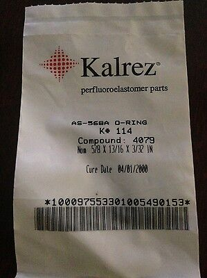Kalrez O Ring As 568A K  114 Dupont Dow New Old Stock