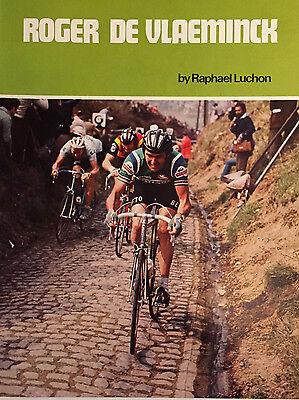 Book: Roger De Vlaeminck by Raphael Luchon