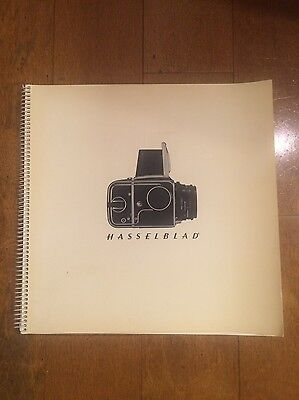 Numbered Hasselblad Sales Manual