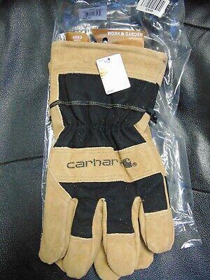 New Carhartt A603 Mens Dozer Gloves. Heavy Duty Work Gloves Xxl Free Shipping