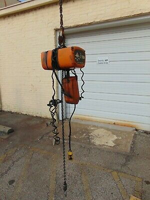 Jet 12 Ton Electric Chain Hoist Model 12 Ts-3-20 3ph 230v