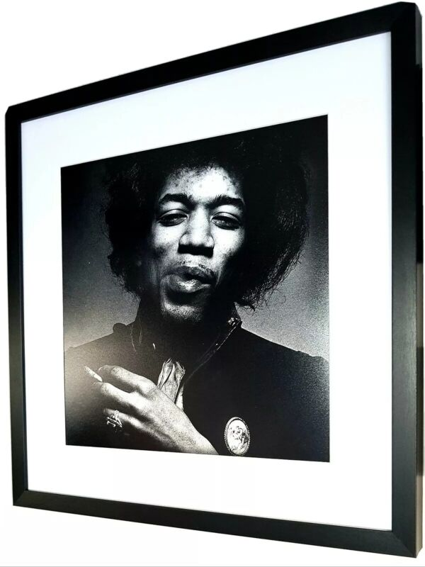 Jimi Hendrix-Luxury Framed Print-LARGE/Amazing Quality/Limited Edition