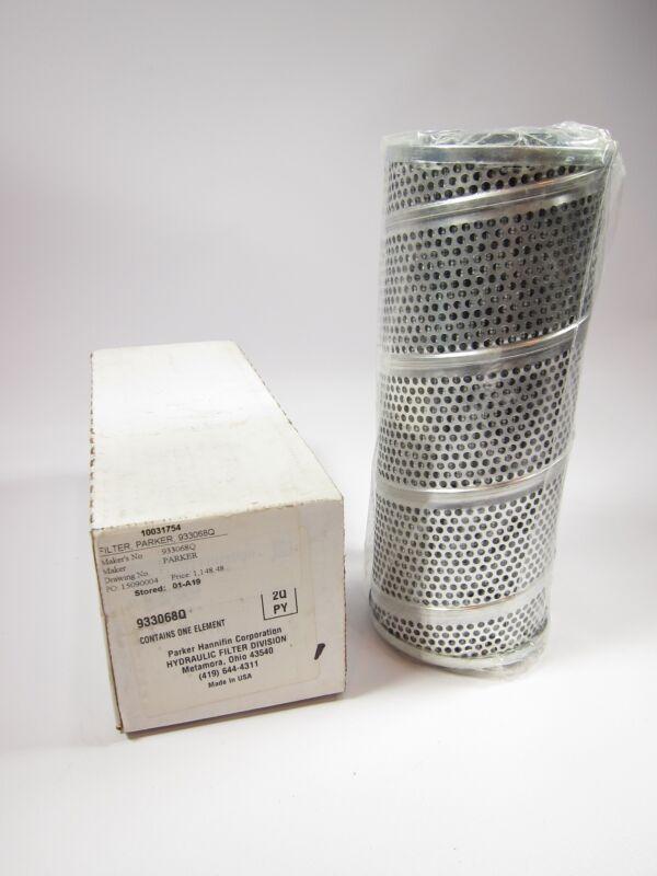 New Genuine Parker 933068Q Hydraulic Filter Element