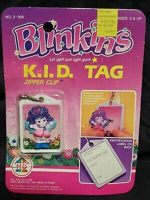 vintage Blinkins zipper clip