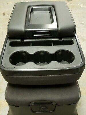 2014-2018 Chevy Silverado 1500 Center Console Jump Seat W/ Storage & Cup Holder
