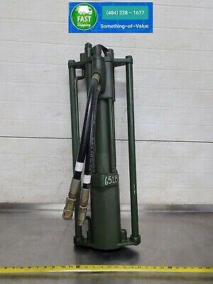 Stanley Pd45 Hydraulic Post Driver Tool W Bit