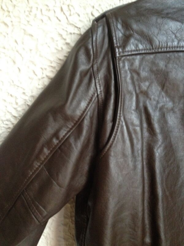 1970/'s Bomber Jacket by Lesco Leathers EXCELLENT CONDITION Size 48