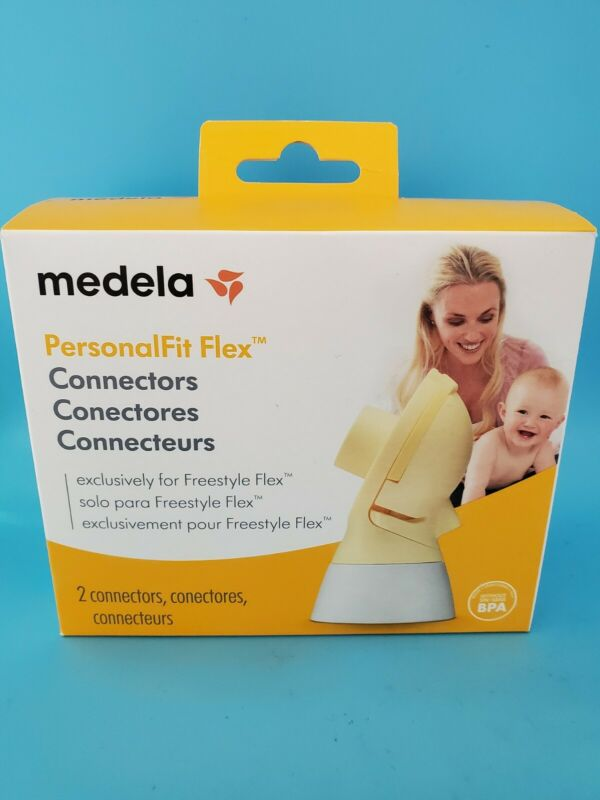 Medela PersonalFit Flex Connectors 2 Connectors Per Box New & Sealed