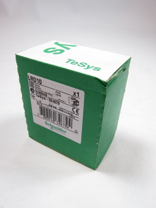 New Factory Sealed Schneider Electric LRD10 Overload Relay 4-6A