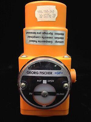 Georg Fischer Pneumatic Actuator Ball Valve 198.150.340