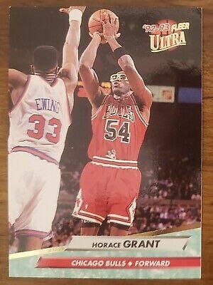 HORACE GRANT 1992-93 FLEER ULTRA Basketball Card #26 Chicago Bulls