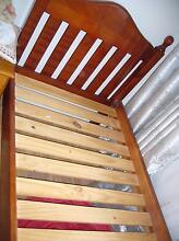 wooden single bed frame Bundoora Banyule Area Preview