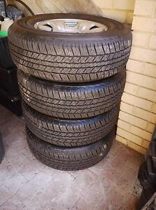 Bridgestone Dueller H/T Set of 4 Cottesloe Cottesloe Area Preview