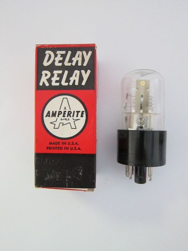New Amperite Delay Relay 26C10 Thermal Tube Relay