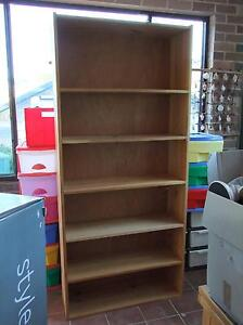 Bookshelves. Solid wood. Tall and wide. Made of pine Davistown Gosford Area Preview