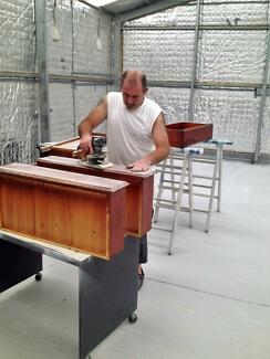 spray painter and furniture polisher - Furniture Painter