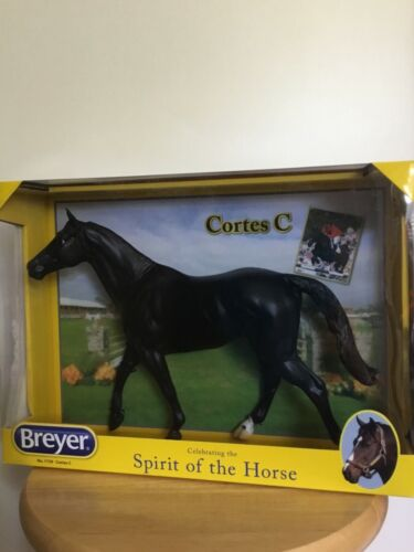 BREYER #1759 CORTES C BLACK WALKING THOROUGHBRED MOLD NIB