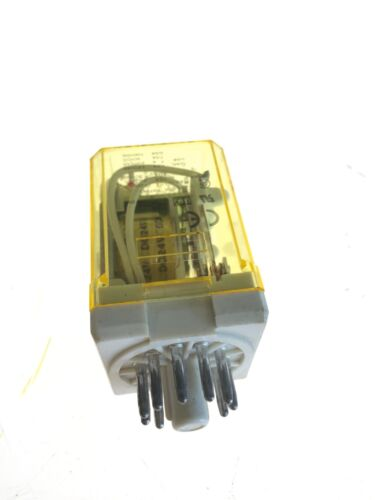 NEW NO BOX IDEC RR3PA-UL 11 PIN RELAY, 24VDC, 50/60HZ, FAST SHIPPING Idec Rr Pa Relays Wiring Circuit on