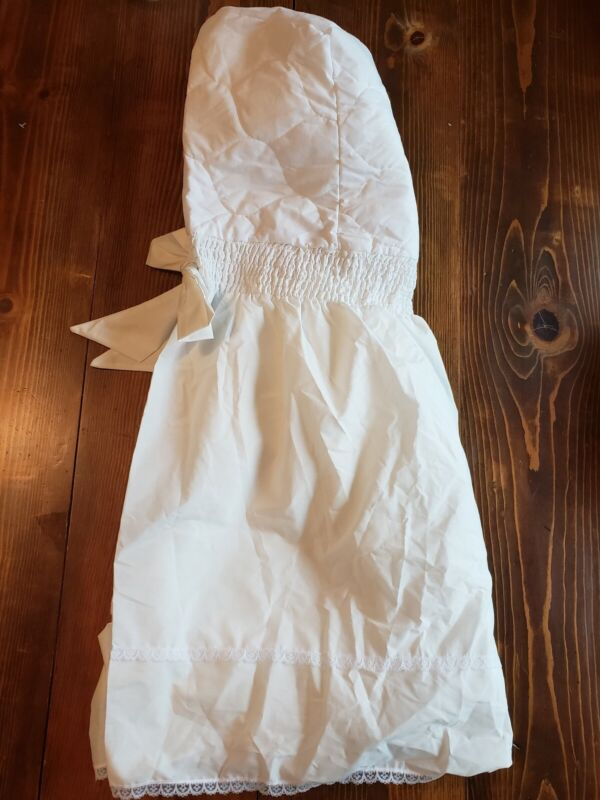 Bassinet Liner/Skirt & Hood-New w/o tags- Length 27 1/2 Inches