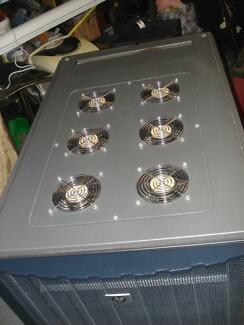 HP 1000G2  SERVER RACK WITH 6 COOLING FANS,  NEW CONDITION , Rydalmere Parramatta Area Preview