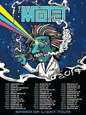 MOTET 2019 NORTH AMERICAN TOUR CONCERT TOUR POSTER- Polyphonic Renaissance Music - $10.99