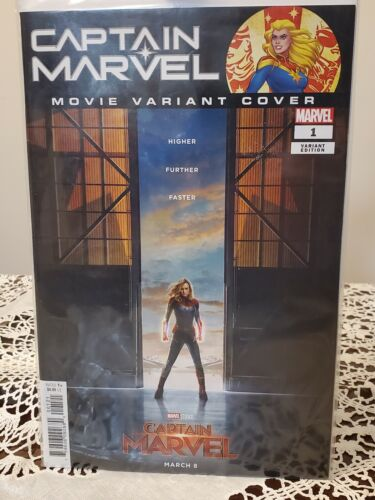 Captain Marvel 1 Movie Cover Variant NM - $9.99