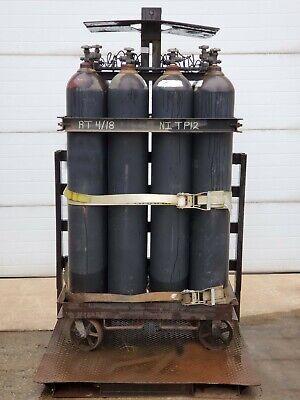 Nitrogen 12-pack Gas Cluster Dewar Model Ni Pt12 1968 Cu.ft Volume