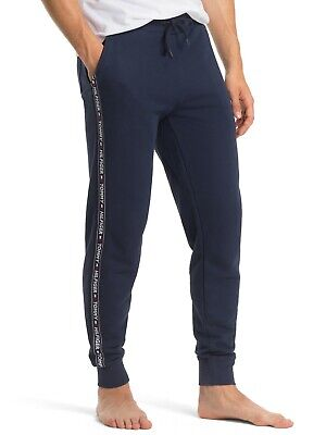 Tommy Hilfiger Authentic cuffed-lounge Logo Tape Jogging Bottoms