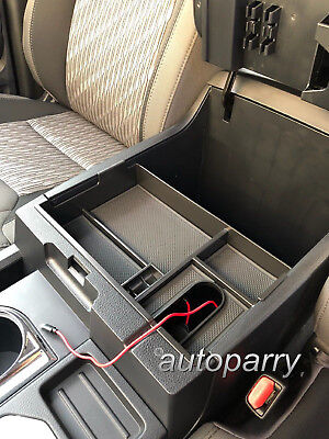 For Toyota Tundra 2014-2019 Center Console Organizer Armrest Storage Box Tray ()