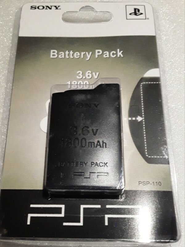 New 3.6V 1800mah Rechargeable Battery for Sony PSP-110 US