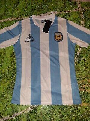 Maglia celebrativa Maradona Argentina campione del mondo 1986 taglia L