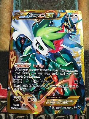 Pokemon Shaymin Ex 77A 108 Xy Premium Trainer S Collection Box Full Art Nm