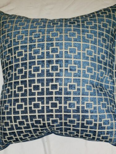 Decorative Throw Pillow Stuffed With Down Alternative Revers