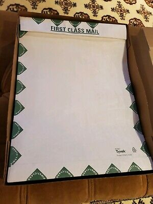 70 New Tyvek Self-seal First Class Border Envelopes - 9 X 12