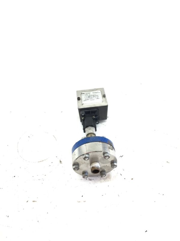 USED Barksdale 403N1-03CG-10-P Pressure Transducer, WITH BASE, 0-50 PSIG (B389)
