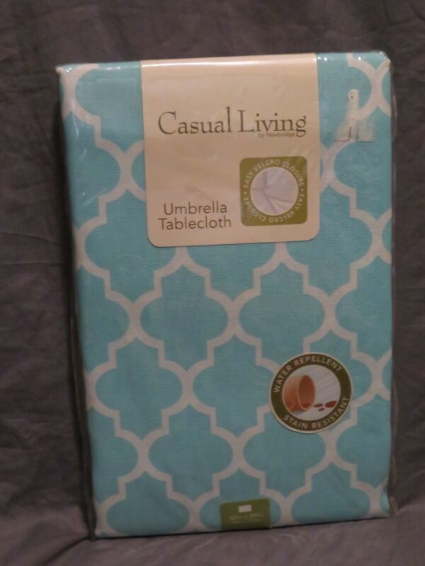 """New Casual Living by Newbridge Umbrella Tablecloth 60"""" x 8"""
