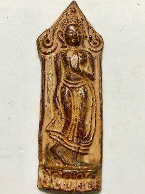 PHRA JATUKAM RAMATHEP LP RARE OLD THAI BUDDHA AMULET PENDANT MAGIC ANCIENT#18