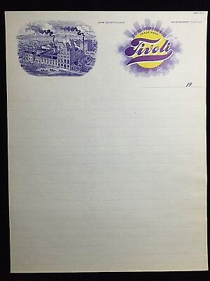 Tivoli-Union Beer, Denver, Colorado 1905 Letterhead, Stationary