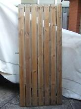 Solid Timber Side Gate With Hinges Kogarah Rockdale Area Preview
