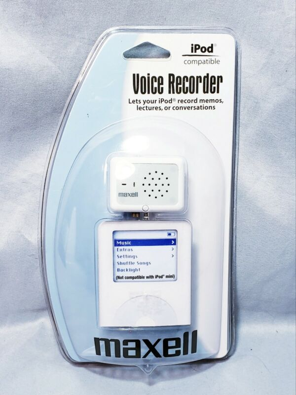 Maxwell Voice Recorder iPod  Record Memos New