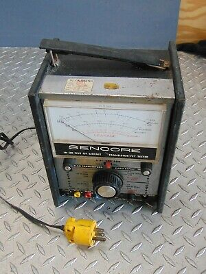 Sencore Tf151a Transistor - Fet Tester