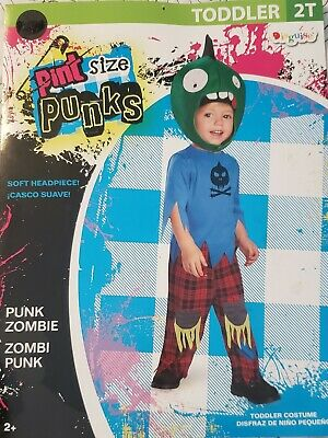 Scary Toddler Halloween Costumes (Baby Boys Infant Toddler Punk Skeleton Scary Zombie Halloween Costume 2T)
