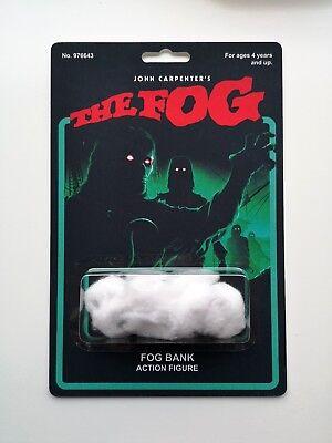The Fog novelty action figure bootleg John Carpenter Halloween horror art toy (Halloween Novelty Toys)