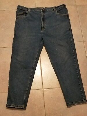 CANYON RIDGE Mens Dark Wash Classic 5 Pocket Cotton Jeans Sz 42/30 Canyon Classic Jeans